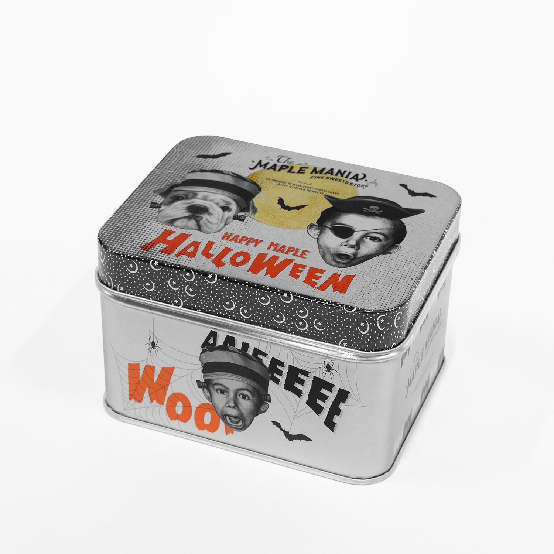 メープルハロウィン缶