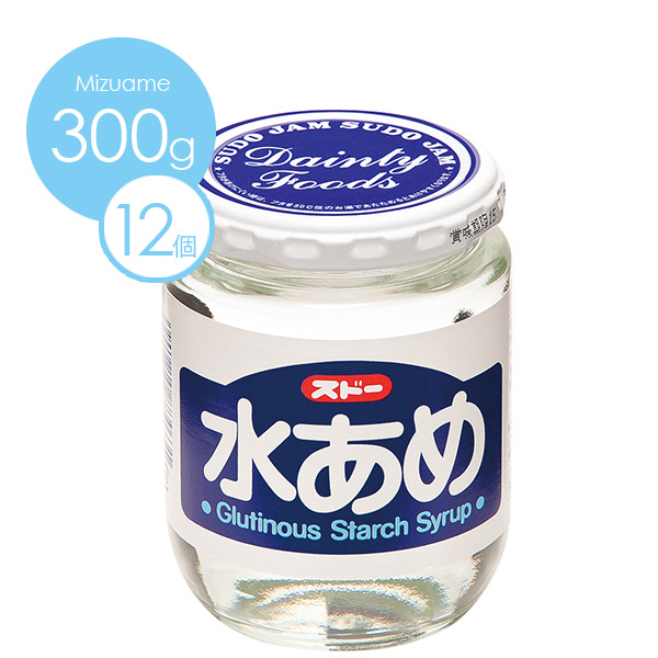 [ケース販売][SUDO]水あめ300g1ケース(12個入り)《送料無料》