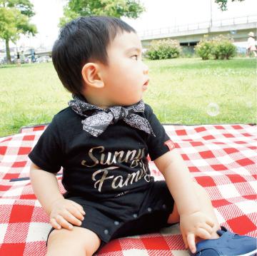 カモフラ ロゴ Tシャツ/ベビーロンパース(全3色)
