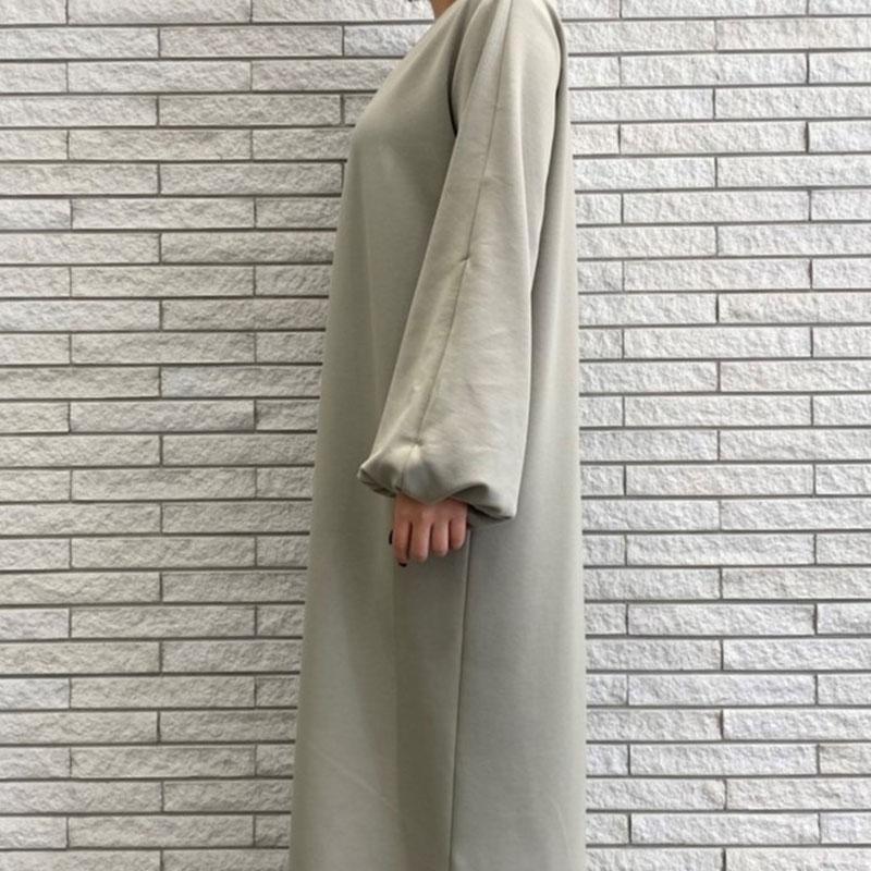 袖2WAYデザインカットワンピース