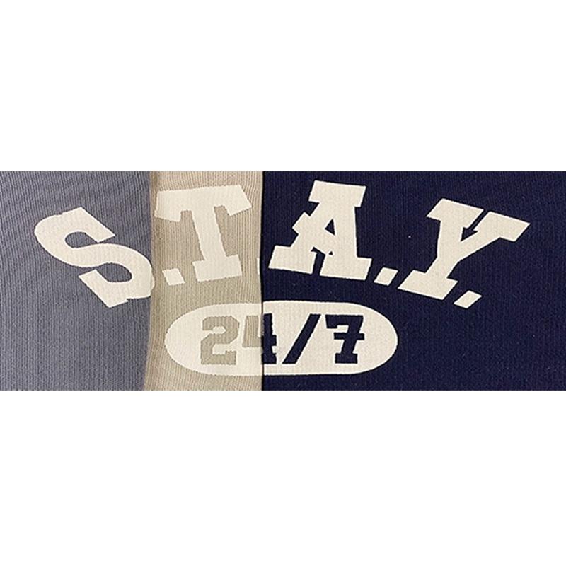 S.T.A.Y ロゴニットワンピース
