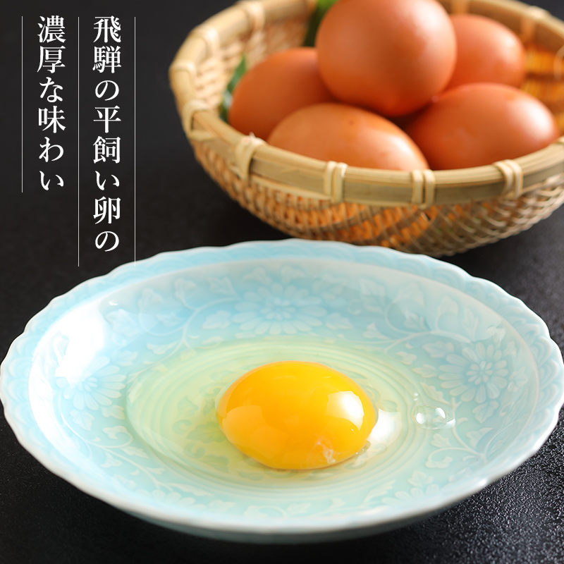 飛騨の平飼い卵のだし巻き