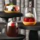 【送料無料】G-PETブロー 76-195 ルフ 300個【お洒落なカフェグラス風プラカップ】