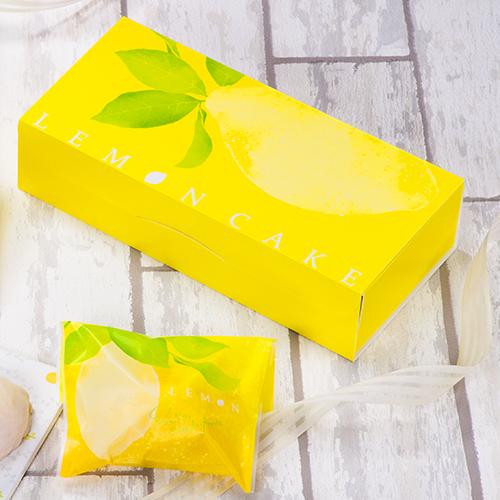 【ギフト箱】レモンケーキ箱 5個入用 100個【大人気のデザイン!】