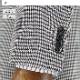 [1YSC02-34] スリムスーツ メンズスーツ 淡グレー 千鳥格子 チェック リンクルフリー ストレッチ ナロースーツ 2021新作 春夏スーツ ノータックパンツ 洗えるパンツウォッシャブル機能
