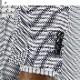 [1Y7C01-31] メンズジャケット レギュラー ビジネス テーラードジャケット 白紺 バーズアイ調 チェック 格子柄 ストレッチ リンクルフリー 春夏 クールビズ