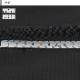 [1YDC02-20] [ネコポス] スラックス ビジネス ウォッシャブル メンズパンツ ワンタック 黒 シャドーストライプ ストレッチ リンクルフリー(防シワ) クールビズ 春夏 洗える 家庭洗濯