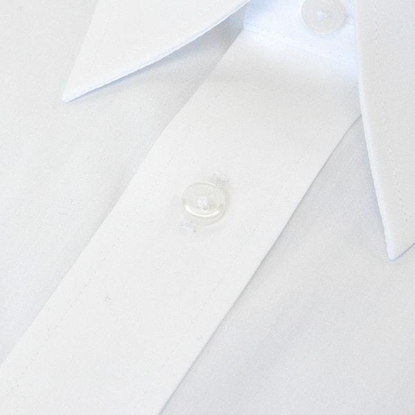[38Z002-19]長袖 形態安定ワイシャツ レギュラーカラー