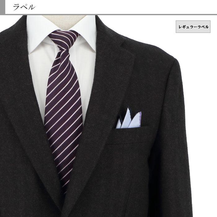 [2J7C32-25] ジャケット メンズ レギュラー ビジネス テーラードジャケット ブレザー 茶 シャドー ストライプ ヘリンボン 2019新作 秋冬 春 ウォームビズ