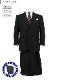 [2JKC32-20] スーツ 大きいサイズ ツーパンツ e体 k体 2パンツ アジャスター ツーパンツスーツ メンズスーツ ビジネススーツ 黒 ストライプ 秋冬 春 スーツ
