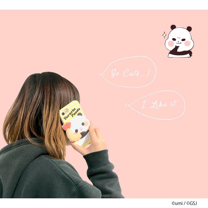 iPhone8 シリコン ケース iPhone7 iPhone6S iPhone6 【LINE】うみ ゆるりんパンダ スタンプ iPhone アイフォン スマホケース アイフォン8 アイフォン7 アイフォン6s アイフォン6 アイフォーン シリコン ライン キャラクター 面白い スマホ スマフォ
