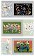 ジグソーパズル アフリカンアート SHOGEN オリジナルデザインパズル 108ピース 箱付き (プレゼント キリン ゾウ シマウマ 動物 アフリカ 流れ星 フラミンゴ カバ 女の子 サイ) 【スマホゴ】