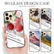 背面強化ガラス ケース カバー 写真デザイン iPhone12 Pro Max iPhne12mini iPhoneSE (第2世代) 11 Pro 8 Plus XR XS Max Xperia XZ2 SO-03K AQUOS R2 SH-03K GalaxyS10 HUAWEI P20 lite HWV32 アイフォン12 スマホケース TPU 衝撃吸収 背面ガラス 9H