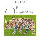 ジグソーパズル アフリカンアート SHOGEN オリジナルデザインパズル 204ピース 箱付き (プレゼント キリン ゾウ シマウマ 動物 アフリカ 流れ星 フラミンゴ カバ 女の子 サイ) 【スマホゴ】