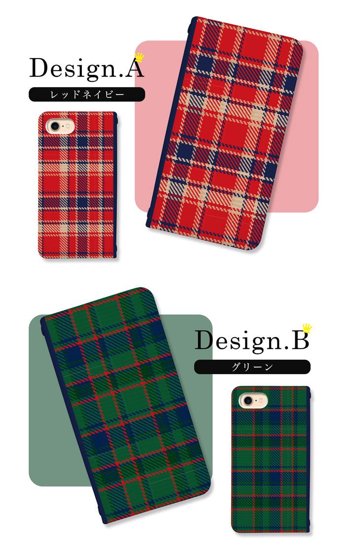 iPhoneSE(第2世代) iPhone11 Pro Max iPhoneXR iPhone8 Plus XS/X スマホ ケース 手帳型 全機種対応 ベルトなし チェック柄 スマホカバー Xperia5 SO-01M SOV41 AQUOS R5G SH-51A SHG01 Galaxy S10 SC-03L SCV41 Pixel4