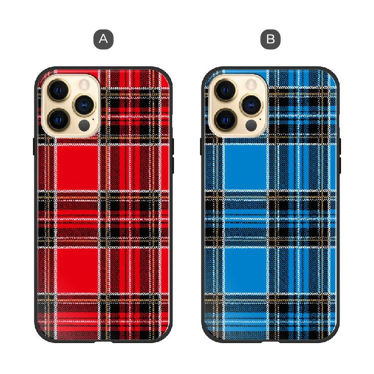 iPhone13 Pro Max iPhone13mini iPhoneSE (第2世代) iPhone12 Pro XR XS Max ガラス ハイブリッド スマホケース チェック iphone 11 8 plus アイフォン Xperia XZ2 SO-03K SOV37 AQUOS R2 SH-03K SHV42 SC-03L SCV41 ケース TPU 耐衝撃 背面ガラス 9H
