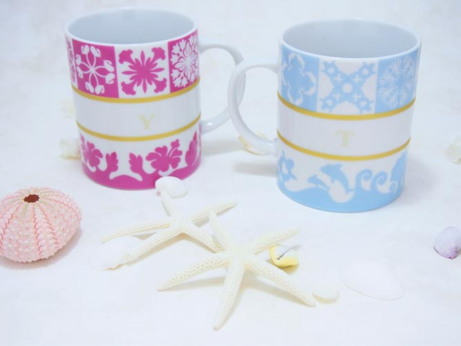 Hawaiian Quilt Collection(ハワイアンキルトコレクション)転写紙 Flowers × チェリーピンク
