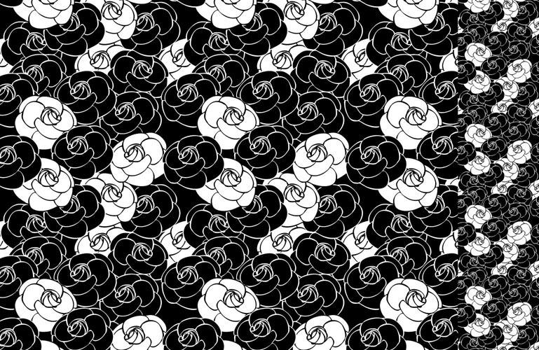 COCO camellia 転写紙
