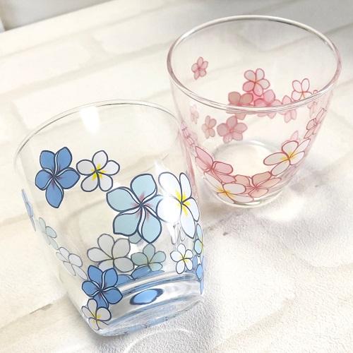 《20%OFF!》【ガラス用】プルメリア ブルー【SALE期間:8/1〜9/末】