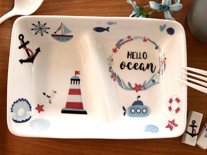 Ocean&alphabet オーシャン&アルファベット転写紙