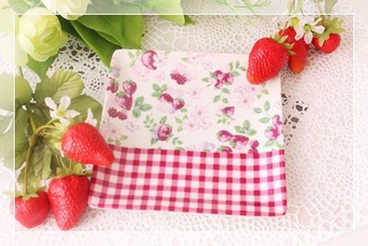 《20%OFF!》Cute Strawberry 転写紙