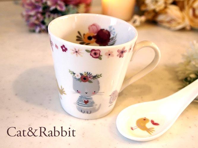 cat&rabbit キャット&ラビット転写紙