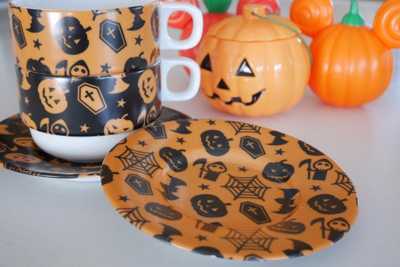 Halloween転写紙 オレンジ