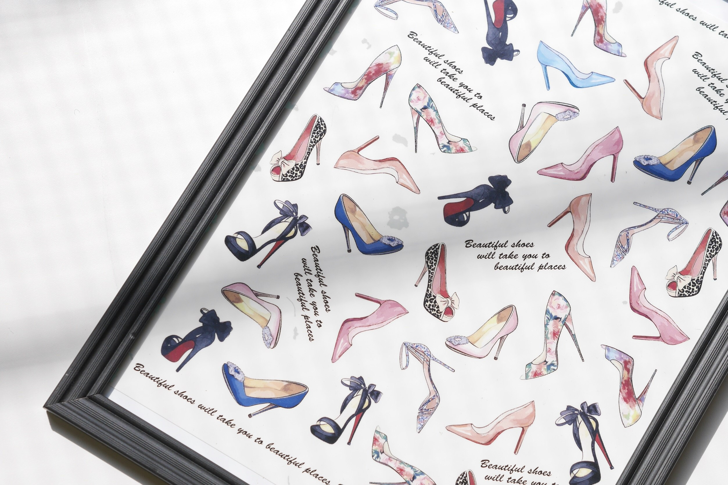 【水彩】High heels ハイヒール転写紙 mini