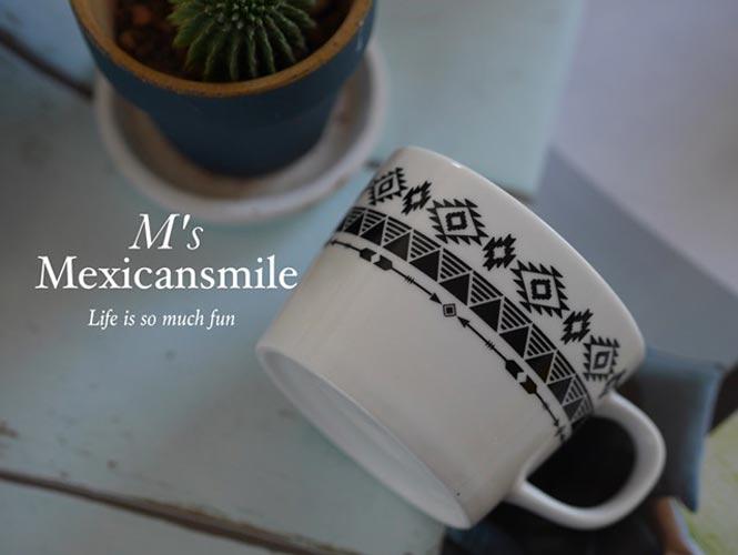 Mexican Smile メキシカンスマイル転写紙 ブラック