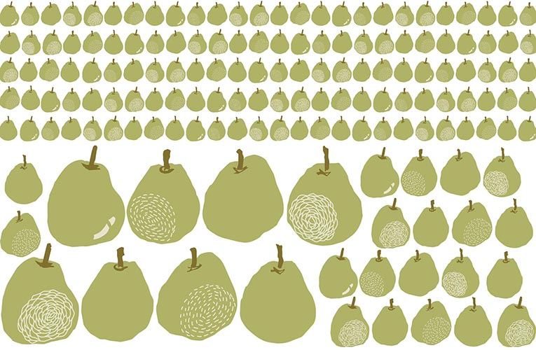 European Pear モスグリーン