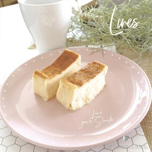 【ぷっくり加工】Linesラインズ ホワイト