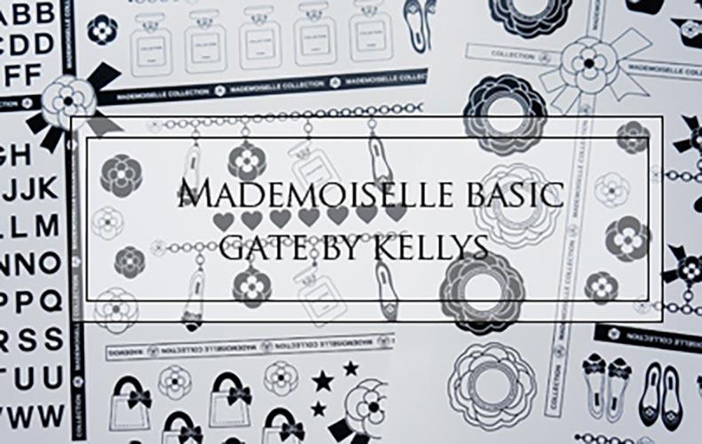 Mademoiselle Basic転写紙