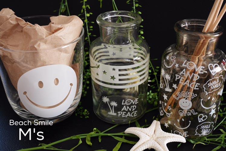 【ガラス用】SMILE スマイル転写紙 ホワイト