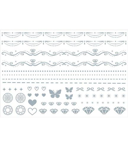 ガラス用クリンカー転写紙ダイヤモンド