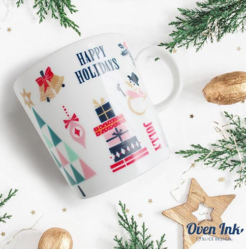 【オーブン転写紙】クリスマス アイコン A5