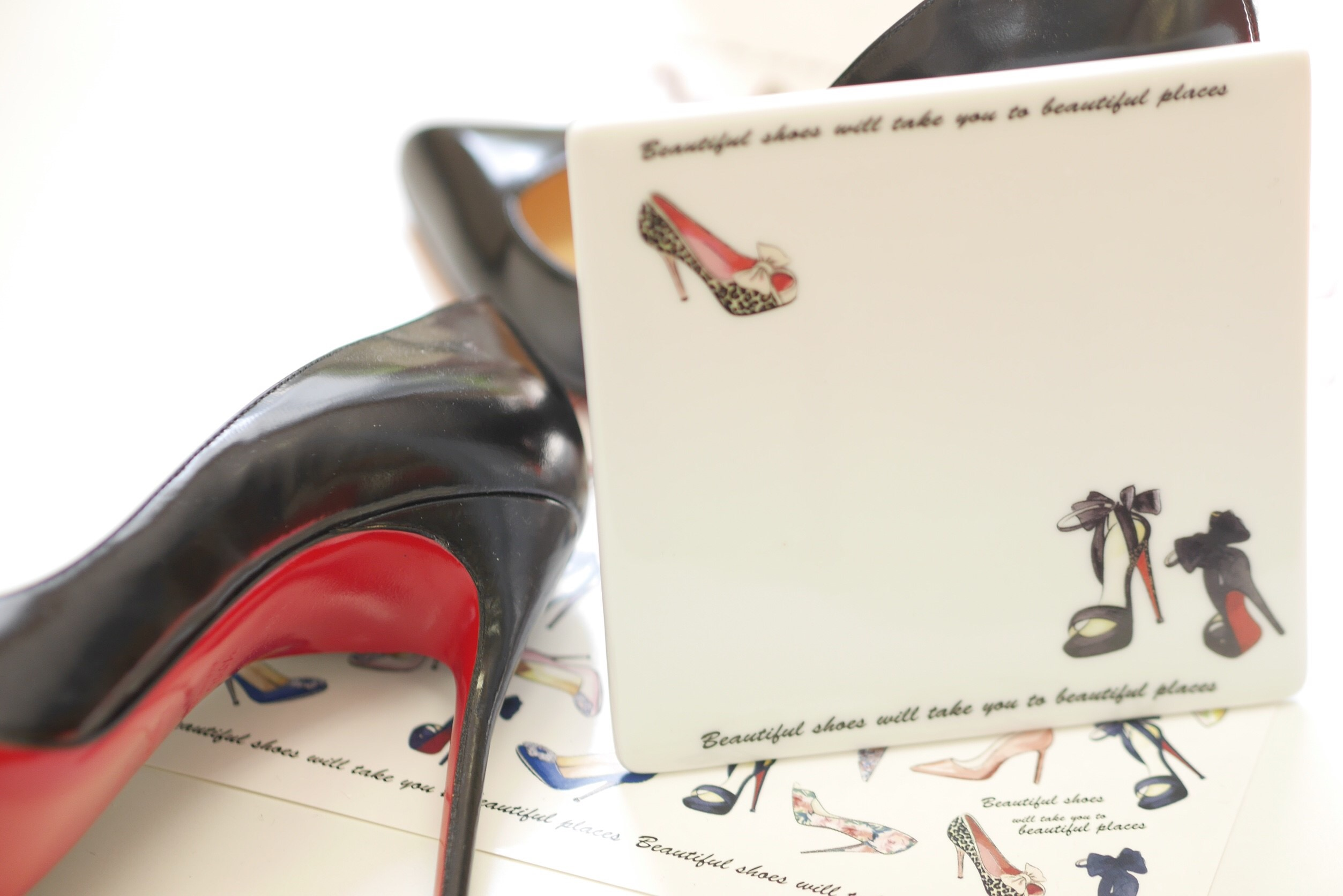 【水彩】High heels ハイヒール転写紙