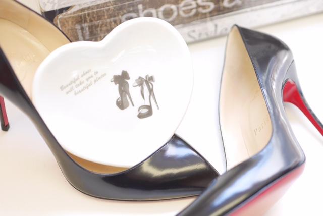 【水彩】 High heels ハイヒール転写紙 グレー