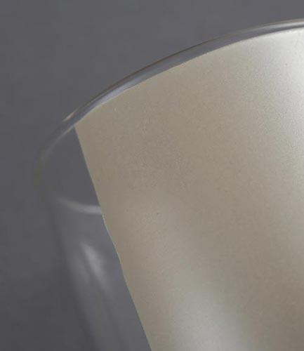 ガラス用単色転パール風シャンパン