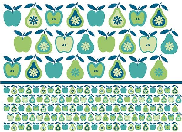 リンゴと洋ナシ