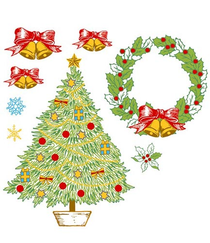クリスマスモチーフ002