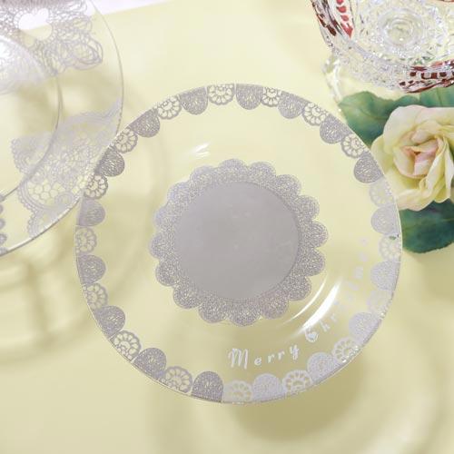 【ガラス用】レースパターン(ライトグレー)転写紙