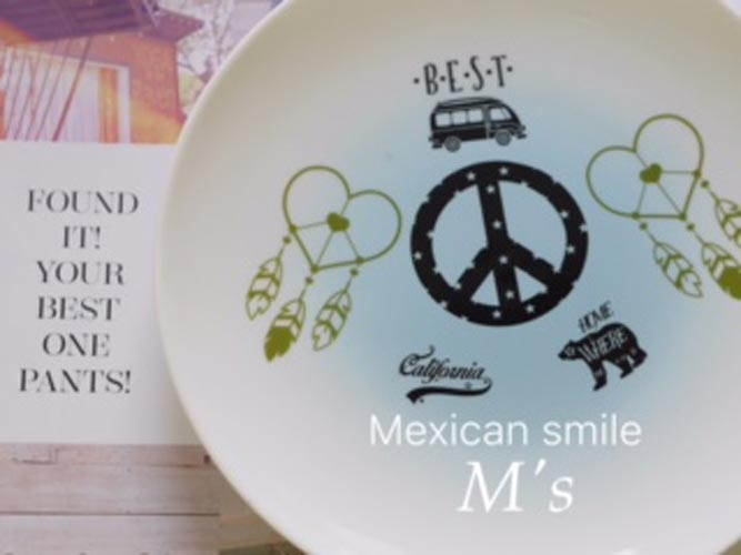 Mexican Smile メキシカンスマイル転写紙 カーキー
