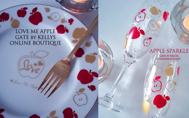 【ガラス用】Apple Sparkle転写紙