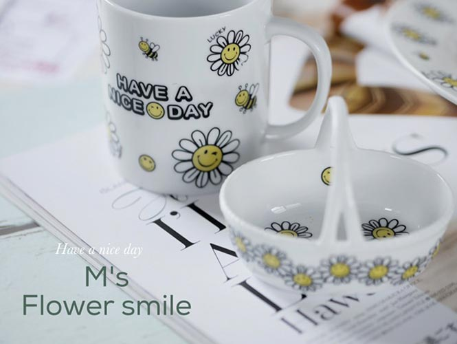 Flower Smile フラワースマイル転写紙