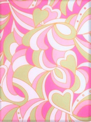 マーブルハート ピンク&スプリングライム