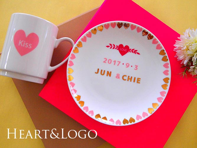 ハート&ロゴ Heart&Logo転写紙
