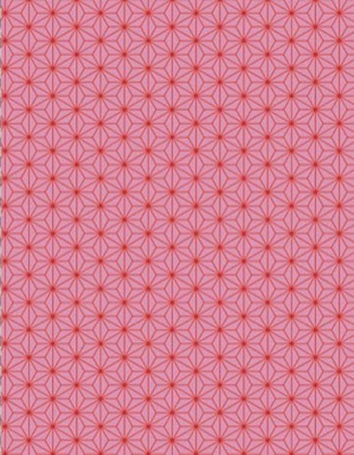 古典和柄 麻の葉 ピンク