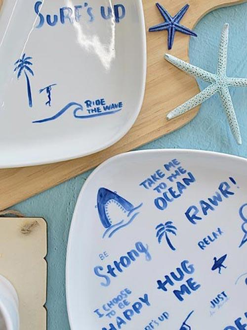 アルファベット Blue Surf