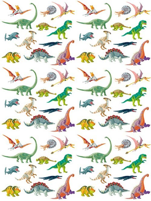 《30%OFF!》 Dinosaur転写紙