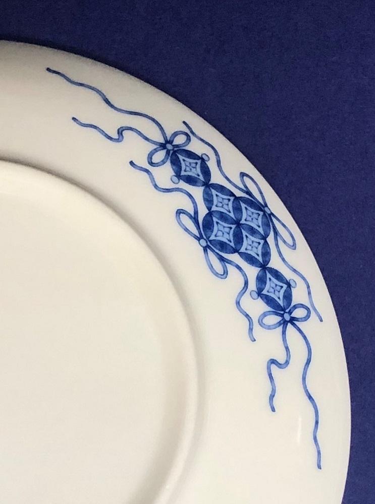 鍋島様式色絵転写紙 紫陽花文 18cm皿用